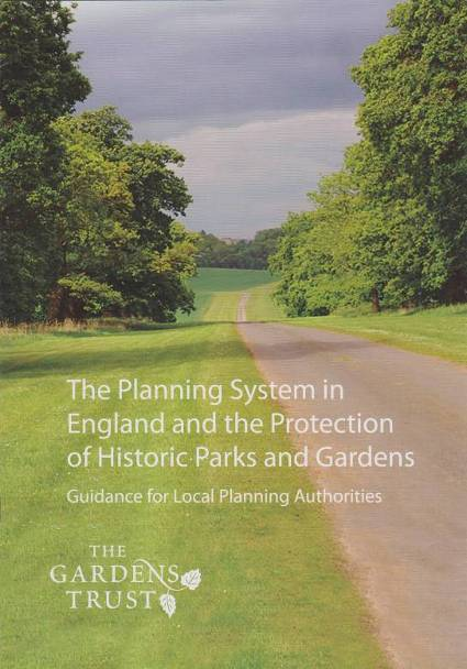 image of the planning system in England and the protection of historic parks and gardens